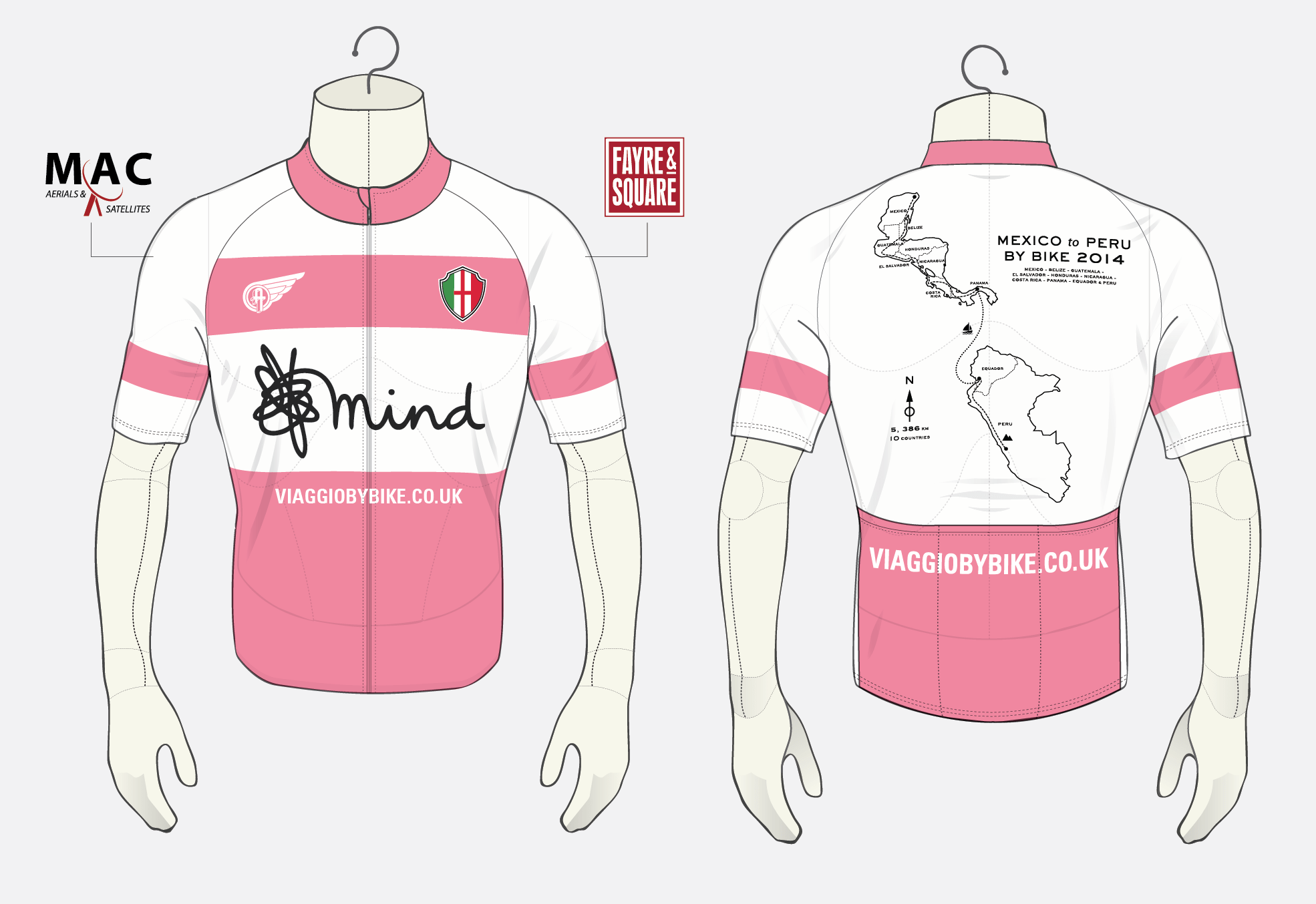 Sponsoring a 5,386KM Bike Ride for Mind Charity